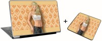 Aurra Crono Laptop Skin And Mousepad Skin Combo Set Combo Set (Multicolor)
