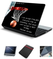 Psycho Art Basket Ball Quote - I Can Accept Failure Combo Set (Multicolor)