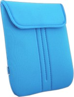 Saco Top Open Laptop Bag For Asus XX513D X Series - Blue 15 Inch Expandable Slip Case (Blue-TO196)