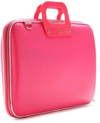 Tootpado Colorful Stylish Carrying Case 15 inch Laptop Bag Pink available at Flipkart for Rs.999