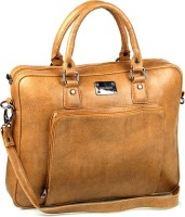 Gauge Machine 15 Inch Laptop Messenger Bag (Tan)