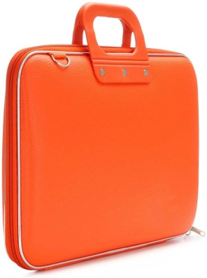 Tootpado Colorful Stylish Carrying Case 15 inch Laptop Bag Orange available at Flipkart for Rs.999