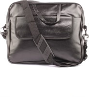 Fidato Fidato Black Laptop Bag 15 inch Expandable Laptop Bag Black