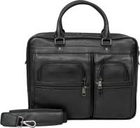 Da Milano 15 inch Laptop Messenger Bag  BLACK  available at Flipkart for Rs.15999