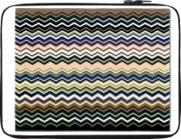 Snoogg Super Coloured Wave Pattern 2511 15 Inch Expandable Sleeve/Slip Case Multicolor