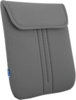 Saco Top Open Laptop Bag For Dell Inspiron 15 3521 Laptop - Grey 15 Inch Expandable Slip Case (Grey-TO201)
