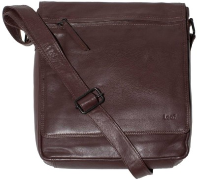 Leaf Addiction 15 inch Laptop Bag Brown available at Flipkart for Rs.1950