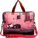 The House Of Tara Canvas 017 15 Inch Laptop Bag - Multi-color