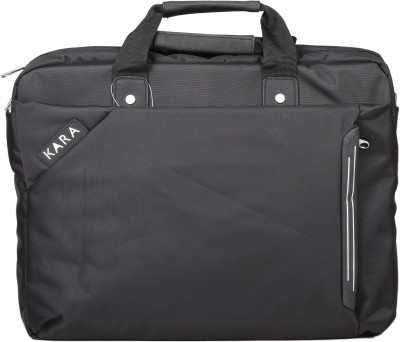 Kara KA23454BL 15 inch Laptop Bag Black A201 available at Flipkart for Rs.2285