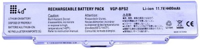 4D Sony Vaio Vgp Bps2a Laptop Battery