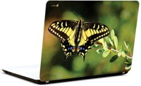 Pics And You Butterfly On Leaf Vinyl Laptop Decal (Laptops And Macbooks)