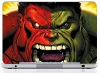 WebPlaza Hulk Skin Vinyl Laptop Decal (All Laptops With Screen Size Upto 15.6 Inch)