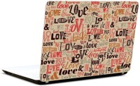 Pics And You Montage Love Vinyl Laptop Decal (Laptops And Macbooks)