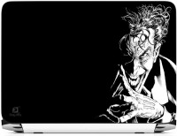 FineArts Joker Black White Vinyl Laptop Decal (All Laptops With Screen Size Upto 15.6 Inch)
