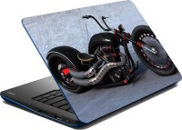MeSleep Chopper Bike Vinyl Laptop Decal (Laptop Skin)