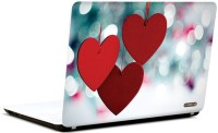 Pics And You Love Hearts Vinyl Laptop Decal (Laptops And Macbooks)