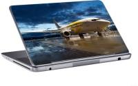 AV Styles Jet Airplane On Airport Skin Vinyl Laptop Decal (All Laptops)