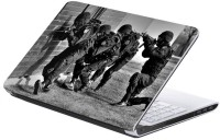 AV Styles Soldiers With Gun Skin Vinyl Laptop Decal (All Laptops)