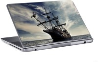 AV Styles Ship On Sea Waves Skin Vinyl Laptop Decal (All Laptops)
