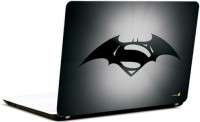 Pics And You Superman Logo With Wings 2 Vinyl Laptop Decal (Laptops And Macbooks)