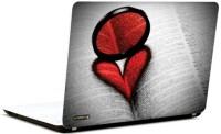 Pics And You Heart Reflection Vinyl Laptop Decal (Laptops And Macbooks)