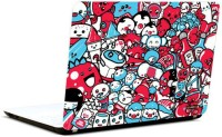 Pics And You Graffitti Cartoons Vinyl Laptop Decal (Laptops And Macbooks)