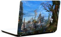 Pics And You Fantasy World 5 Vinyl Laptop Decal (Laptops And Macbooks)