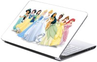 AV Styles Beautiful Cartoon Girls Skin Vinyl Laptop Decal (All Laptops)