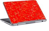 AV Styles Beautiful Designs On Red Skin Vinyl Laptop Decal (All Laptops)