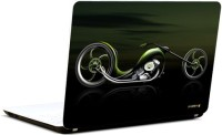 Pics And You Abstract Bike Vinyl Laptop Decal (Laptops And Macbooks)