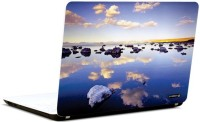 Pics And You Bold And Blue 5 3M/Avery Vinyl Laptop Decal (Laptops And MacBooks)