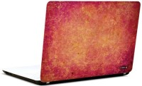 Pics And You Abstract Red Design 3M/Avery Vinyl Laptop Decal (Laptops And MacBooks)