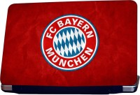 ShopMantra FC Bayern Logo Vinyl Laptop Decal (All Laptops With Screen Size Upto 15.6 Inch)