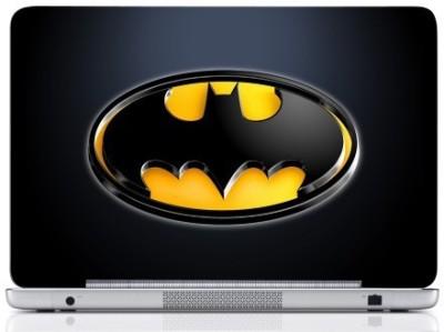 WebPlaza Batman Logo 5 Skin Vinyl Laptop Decal (All Laptops With Screen Size Upto 15.6 Inch)