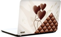 Pics And You Chocolate Hearts Vinyl Laptop Decal (Laptops And Macbooks)