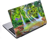 EzyPRNT Mangrove Forests And Sun Rays Art & Painting (14 To 14.9 Inch) Vinyl Laptop Decal 14 (Dell Laptop, HP Laptop, Lenovo Laptop, Acer Laptop, Samsung Laptop, Toshiba Laptop, Apple Laptops)