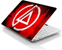 Print Avenues Linkin Park Logo (Red Background) Vinyl Laptop Decal (All Laptops)