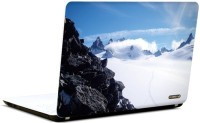 Pics And You Whimsical White Nature7 3M/Avery Vinyl Laptop Decal (Laptops And MacBooks)