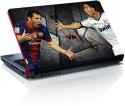 Amore Lionel Messi Vs Cristiano Ronaldo Vinyl Laptop Decal - All Laptops With Screen Size Upto 15.6 Inch