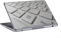 AV Styles Pure White Keyboard Skin Vinyl Laptop Decal (All Laptops)