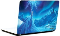 Pics And You Frozen Cartoon Themed 400 3M/Avery Vinyl Laptop Decal (Laptops And MacBooks)