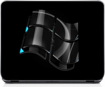 47 Off On Shopnow Double Windows 7 Black Hd Wallpaper Vinyl Laptop Decal On Flipkart Paisawapascom