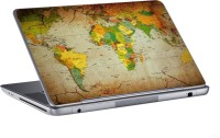 AV Styles World Poltical Map Skin Vinyl Laptop Decal 15.6 (All Laptops)