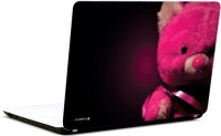 Pics And You Pink Teddy Loves You Vinyl Laptop Decal (Laptops And Macbooks)