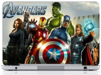 WebPlaza Avengers Team Hulk Skin Vinyl Laptop Decal (All Laptops With Screen Size Upto 15.6 Inch)