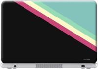 Macmerise Slope Stripes Black - Skin For Dell Vostro V3460 Vinyl Laptop Decal (Dell Vostro V3460)