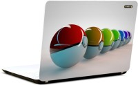 Pics And You Paokemon Balls Vinyl Laptop Decal (Laptops And Macbooks)