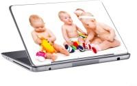 AV Styles Cute Little Babies Playing Skin Vinyl Laptop Decal (All Laptops)