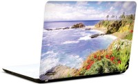 Pics And You Beachside View 14 3M/Avery Vinyl Laptop Decal (Laptops And MacBooks)