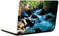 Pics And You Beautiful Waterfall 5 3M/Avery Vinyl Laptop Decal (Laptops And MacBooks)